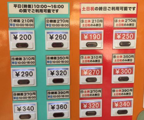 萱島駅 オレンジ色 自販機 切符 おトク 京阪電車