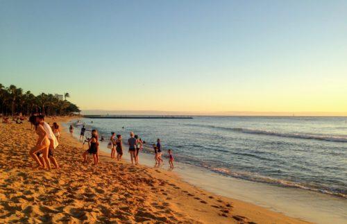 ハワイ ワイキキビーチ パワースポット