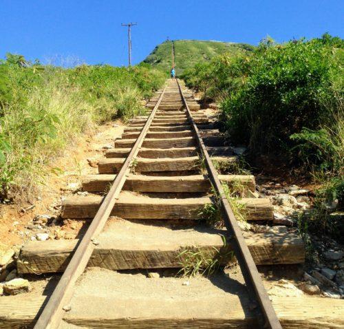 ハワイ ココヘッド 登山